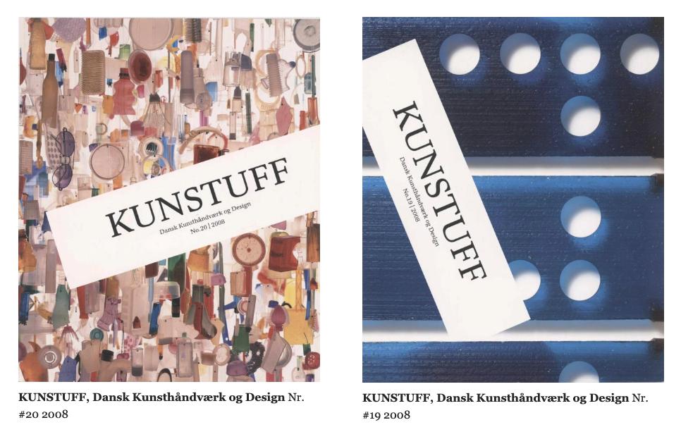 KUNSTUFF og Biennalekataloger